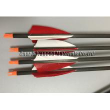 Flecha de flecha de carbono 2016, flecha de fibra de carbono, paletas de flecha