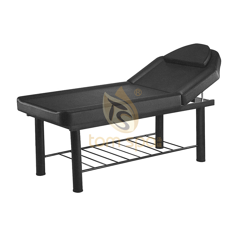 Massage Table/ Bed Black For Spa