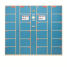 Supermarkt Electric Digital Coin Locker mit 24 Türen