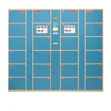 Supermarket Electric Digital Coin Locker with 24 Doors