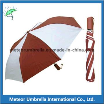 Cheap 2 Fold Promotion Gift Disposable Advertisement Umbrella