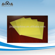 Bonne qualité jaune 3240 fibre feuille de verre Jingjing fabricant