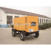 10-1000KVA Gerador móvel de baixo ruído