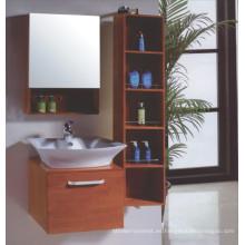 Gabinete de baño de madera del piso de Solide (B-337)