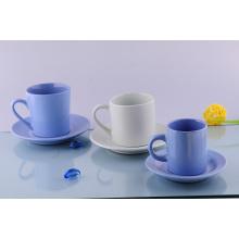 Tasse et soucoupe en céramique de Cappuccino (CZJM2130)