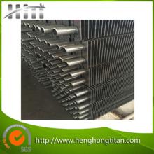 304 / 316 / 316L Laser tubes à ailettes en acier inoxydable soudé pour Tenture murale chauffage au gaz
