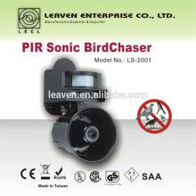 Sonic PIR Bird chaser LS-2001 repel pigeon blackbird