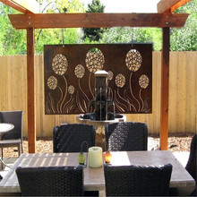 Decorative Garden Corten Steel Metal Screen