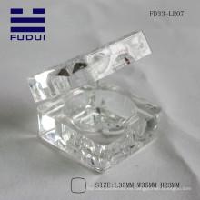 2015 neue Marke klar transparente quadratische wasserdichte Lippe Balsam Fall machen Sie eigene Rohr