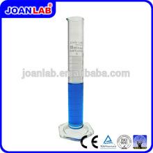 JOAN LAB Cylindre de mesure de verre à base de borosilicate avec base hexagonale
