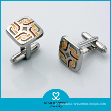 Custom Logo Engrave Fashion Man Cufflinks Wholesale (BC-0010)