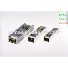 LED ,smps open type power supply 60-80W power supply