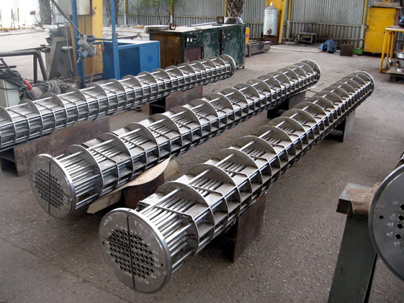 Shell Tubes and Heat Exchanger Tubes