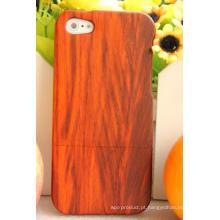 Tampa de madeira móvel valiosa durável vermelha de Padauk da madeira