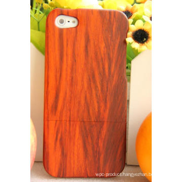 Red Wood Padauk Durable Valuable Mobile Wood Cover