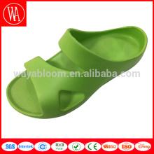 Vente chaude chaussures en plastique hommes glissière pantoufle mode hommes pantoufle en peluche