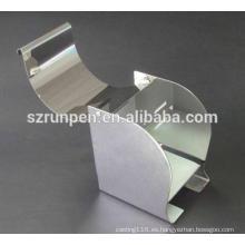 Caja de papel higiénico de acero Stianless de perforación CNC