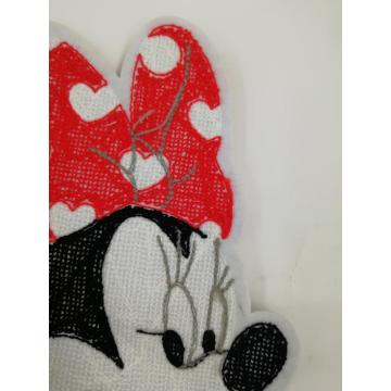Mooie Mickey chenille-patches voor kinder T-shirt