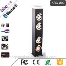 KBQ-802 6000mAh Batterie Neueste professionelle Power Bank Tower-Lautsprecher Bluetooth-Audio