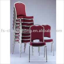 Chrome Steel Leg Stacking Chairs (YC-ZG41)