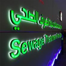 Letras iluminadas diodo emissor de luz para o produtor do Signage