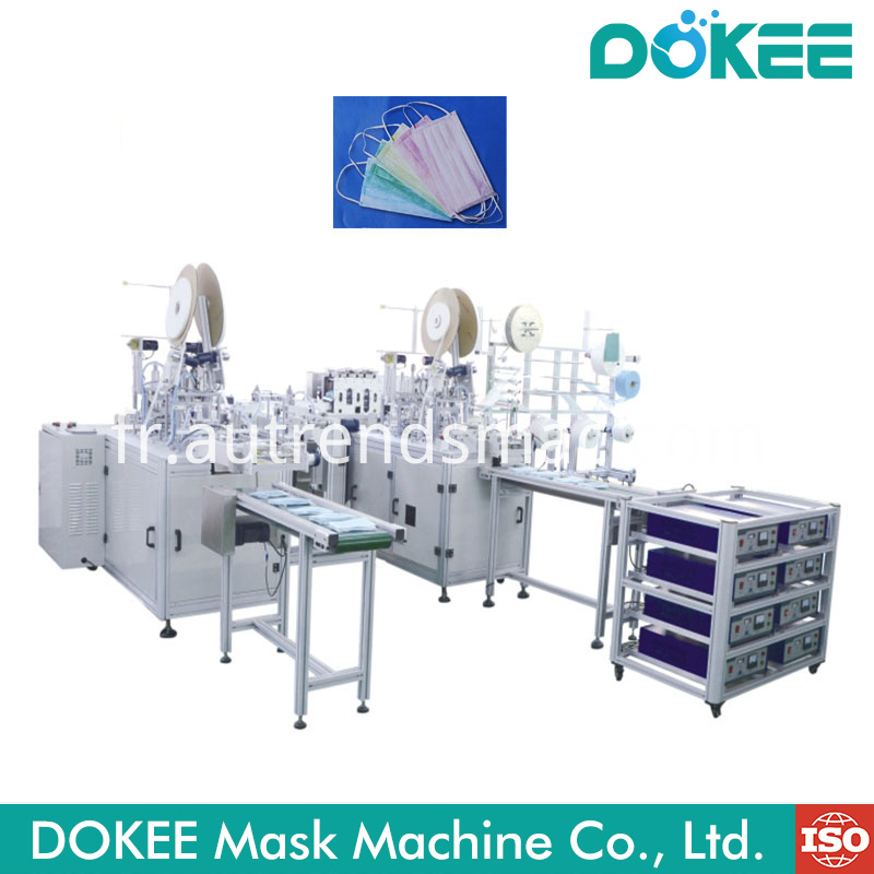 Automatic Flat Mask Making Machine