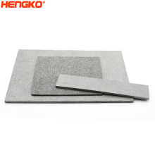HENGKO High Prisicion Customized Size Sintered Stainless Steel 316 316L Filter Plate For Chemical Liquid Filtration