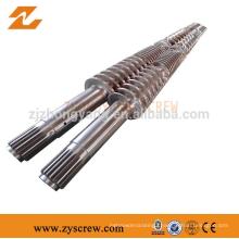 65/132 twin screw extruder pvc ceiling panel machine