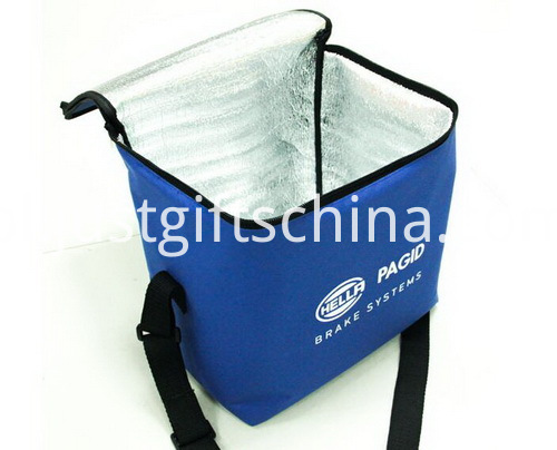 Promotional Non Woven Cooler Bags Zipper Closure - 6 Can (2)