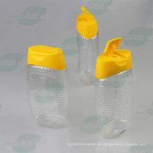 500g Haustier-Plastikhonig-Flasche mit Silikon-Ventil-Kappe (PPC-PHB-63)