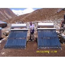 Type de séparation Heat Pipe Solar Heat Collector
