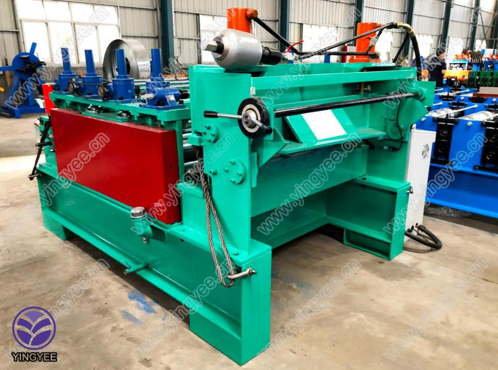 leveling and cutting machine