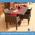 Garden Dinner Table Wicker Dining Room Set
