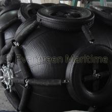 Пневматические резиновый Обвайзеры с цепями и клеткой шины для охраны лодки
