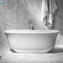 En gros usine de porcelaine parfaite vigueur spa morden salle de bain baignoire ovale pour les petits espaces