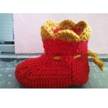 Warm Handmade Crocheting Baby Socks, Stockings