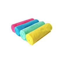 Alta qualidade de secagem rápida 40 * 40 cm 300gsm microfibra carro / hotel / mão toalha de limpeza