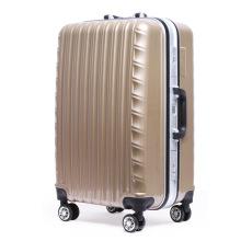 Brown Wave Molding Durable Reisegepäck / Koffer / Trolley Bag Set