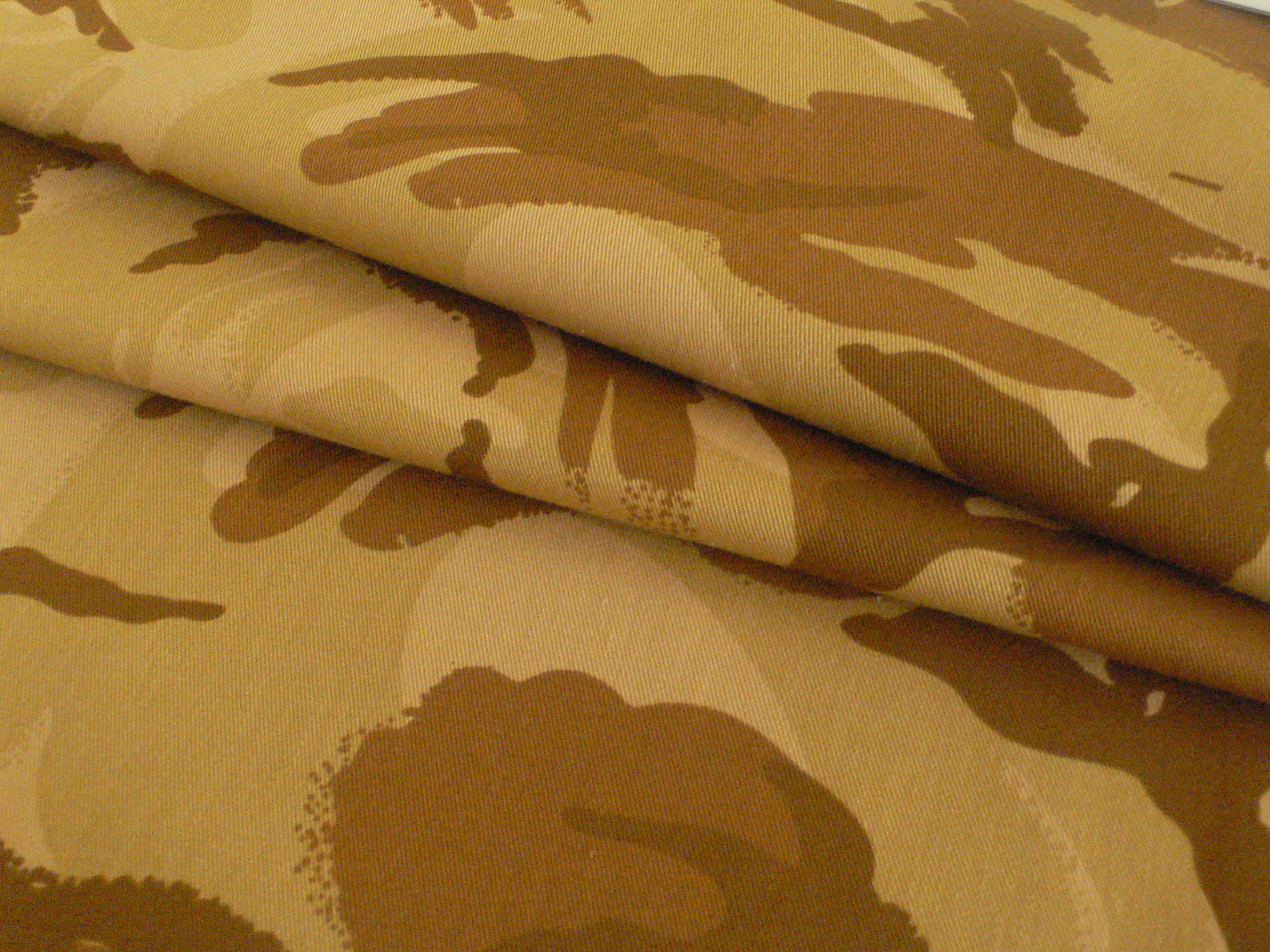 Army Desert Camouflage Fabric for the MIddle East