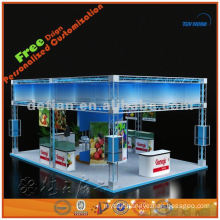 Space structural expo show stand design exported from Shanghai