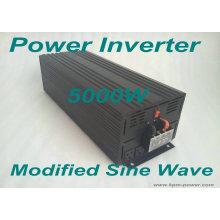 Inversor de la energía de la onda de seno modificada 5000 vatios / inversores de la energía del coche