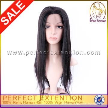 Top Knot 5a Brazilian Full Burmese Silk Base Lace Front Wig