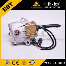 Топливный мотор Komatsu 7834-41-3002 для PC300-7