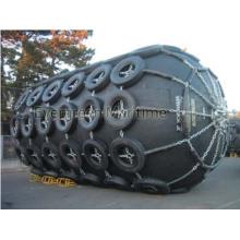 D3.3m X EL6.5m flotante defensa de goma neumática