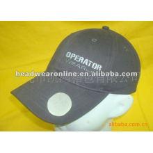 Bottle opener baseballcaps EMB logo 100%cotton fabric