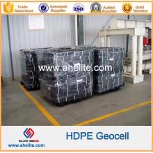 Geocells de HDPE de plástico para soporte de tubería y alcantarillado