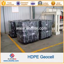 Geocélulas de HDPE Plástico para Suporte O Oleoduto e o Esgoto