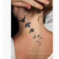 Customized High Quality Fashion design temporary single color tattoo sticker