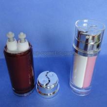 40ml double Tube de 80ml Lotion presse bouteille