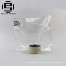 Preiswerte kundenspezifische klare hdpe Plastikeinkaufstaschen